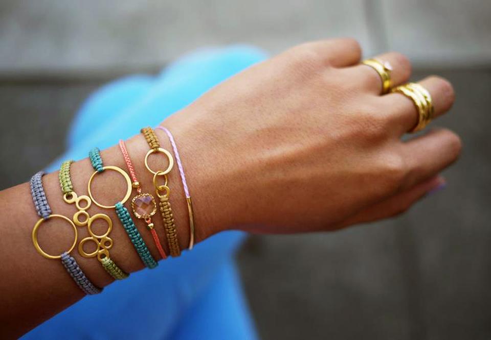 Постоянная ссылка на Как сделать браслет с золотой цепочкой.