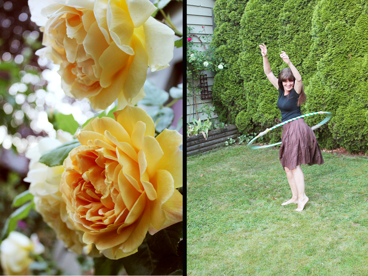 me and roses